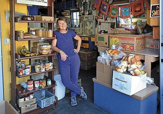 Pamela Joy, Director of the Ashland Food Angels